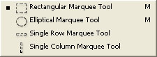 Marquee Tools All