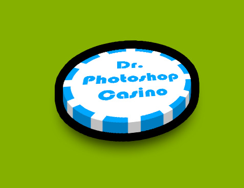 Poker chips photoshop brushes